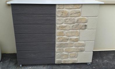 Imitation bois pierre et chaine d angle