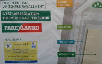 Isolation thermique par exterieur hdrp